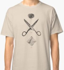 ROCK / SCISSORS / PAPER Classic T-Shirt
