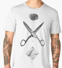 ROCK / SCISSORS / PAPER Men's Premium T-Shirt