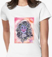 smoker's breath, part ii Women's Fitted T-Shirt