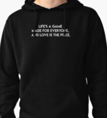 Life is a Game Pullover Hoodie