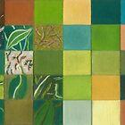 Euca Abstract by Kerryn Madsen-Pietsch