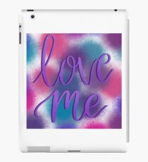 Love Me - Brush Lettering iPad Case/Skin
