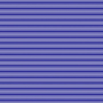 Wide Navy Blue Mattress Ticking Bed Stripes by podartist