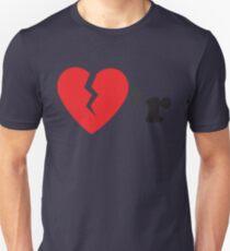 Heart Breakr (Red/Black) Unisex T-Shirt