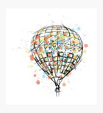 Air Ballon Photographic Print