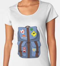 Backpacking Women's Premium T-Shirt