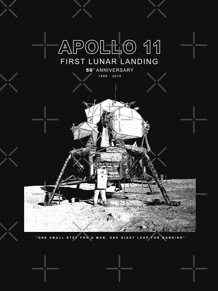 Apolo 11 - 50 ° aniversario 1969-2019 - Aterrizaje lunar - Luna de carlosafmarques