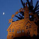 illuminated church - winter wonderland by Perggals© - Stacey Turner