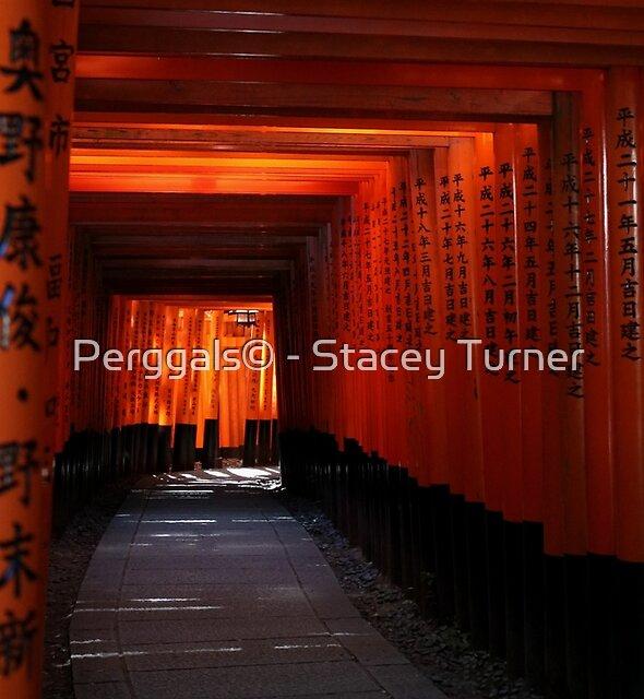 Senbon Torii - Fushimi Inari Shrine by Perggals© - Stacey Turner