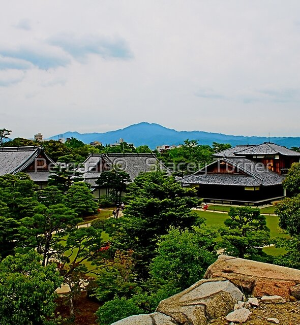 view - Heian Shrine gardens by Perggals© - Stacey Turner