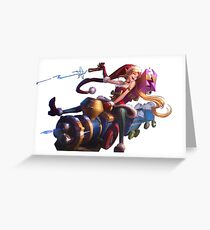 Ambitious Elf Jinx Greeting Card