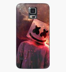Marshmello Red Galaxy Case/Skin for Samsung Galaxy