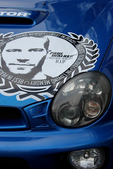 Paul Walker Tribute Posters By PerggalsC