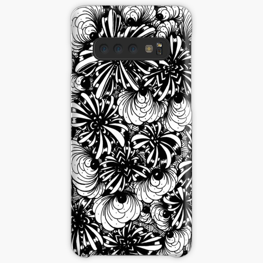 Zentangle Starfish-Fireworks-Engulfing-Petals Samsung Galaxy Snap Case