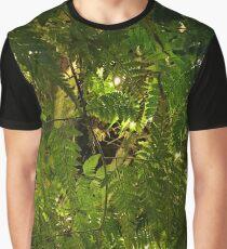 Foliage Glow Graphic T-Shirt
