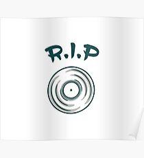 Avicii DJ RIP Poster