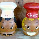 Mama's Salt and Pepper Shakers by Vivian Eagleson