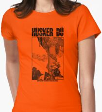 Hüsker Dü Logo Big Women's Fitted T-Shirt