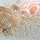 Make Up Your Mind... Mr Squiggle challenge... the painting by georgiegirl