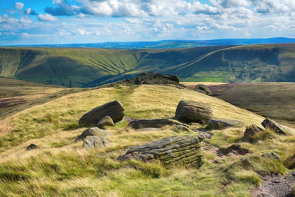 Near to Kinder Scout by Andy Coleman