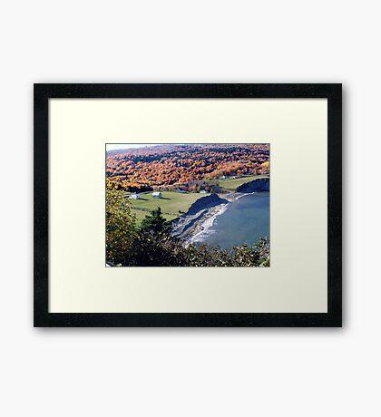 Capstick, Cape Breton Island Framed Print