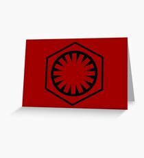 The First Order Greeting Card