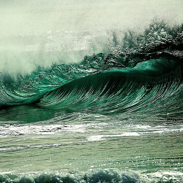 ocean waves by med-artiste