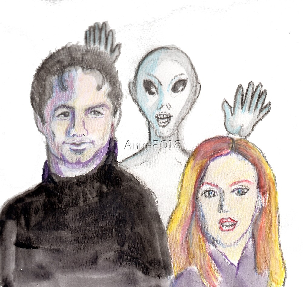Mulder and Scully are Photobombed II by Anne2018