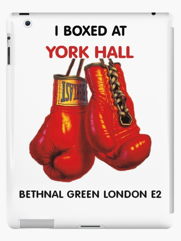 'I boxed at York Hall - The iconic London UK boxing venue that many World  Champions boxed at since the 1920s' iPad Case/Skin by Glyn123