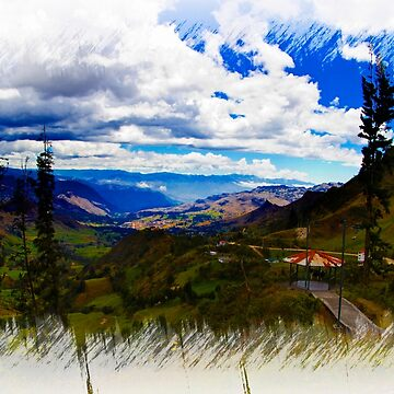 View Of Giron Valley From Portete IV by alabca