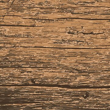 Natural Earthtone Woodgrain WiiMi Pattern by SDParty