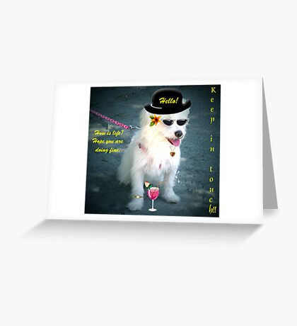 CLASSIC PUPPY Greeting Card