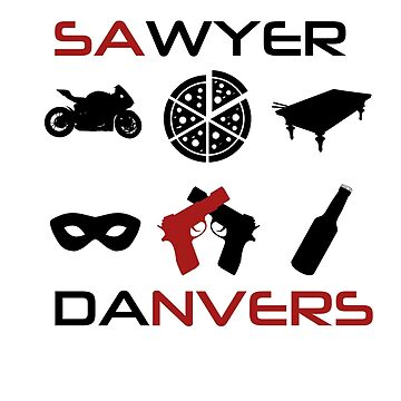 Sawyer Danvers by dolphinvera