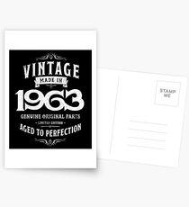 Perfection Birthday 1963 55th Grandma Grandpa Vintage Postcards