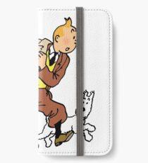 Tintin + Milou Hurry ! iPhone Wallet/Case/Skin