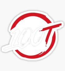 100 Thieves || Original  Sticker