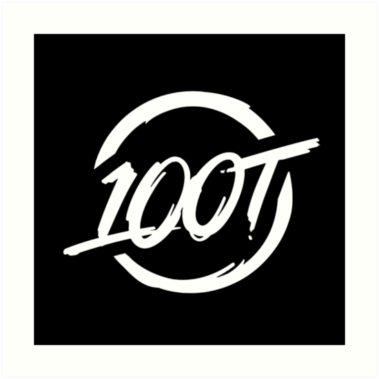 100 Thieves || White by Esports Merch