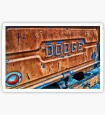 Vintage Dodge Sticker