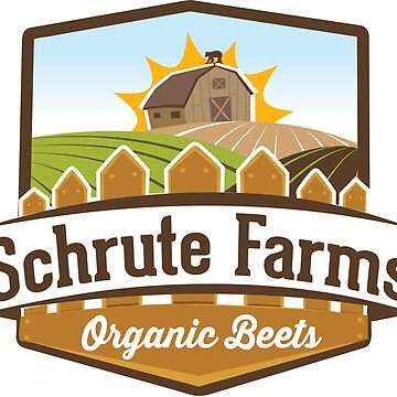 Schrute Farms - Dwight Schrute / The Office Inspired Design  by screampunk