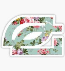 Optic Gaming || Floral  Sticker