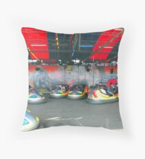 Dodgems Throw Pillow