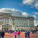 Buckingham Palace HDR by Jakov Cordina