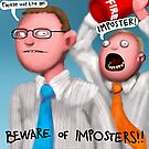 Beware of Imposters! by Smallbrainfield
