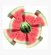 watermelon flower Photographic Print