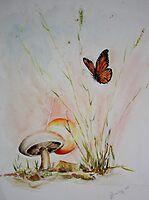 lone  fungi  by robmac