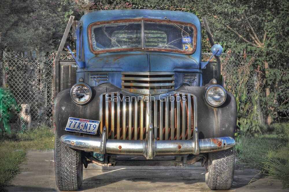 Old Chevy Truck by Savannah Gibbs