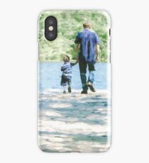 Father and Son 3 iPhone Case/Skin