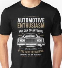 AUTOMOTIVE ENTHUSIASM Unisex T-Shirt