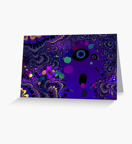My Mind is Going. I Can Feel It. - Psychedelic Visionary Art Greeting Card