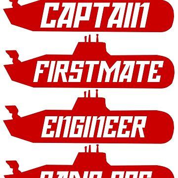 Captain Sonar (Crew) by CamrosX